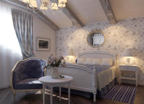 Дизайн в стиле прованс: лавандовое солнце юга Франции в квартире