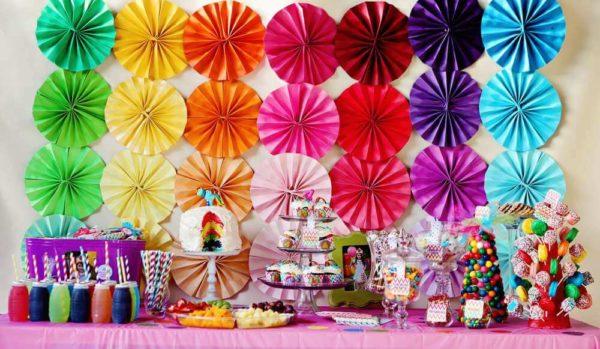 Веерные вертушки из бумаги: очаровательные handmade