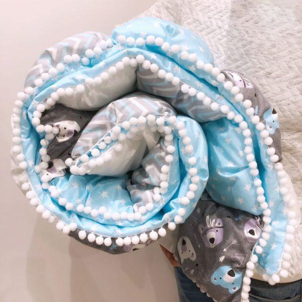 При хранении одеяла не копят запахи