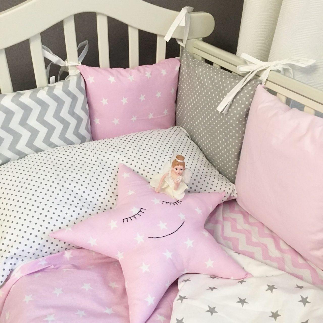 2-4 Как сшить бортики в кроватку для новорожденных своими руками
