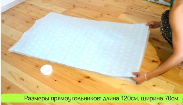 22-3-600x344 Как сшить бортики в кроватку для новорожденных своими руками