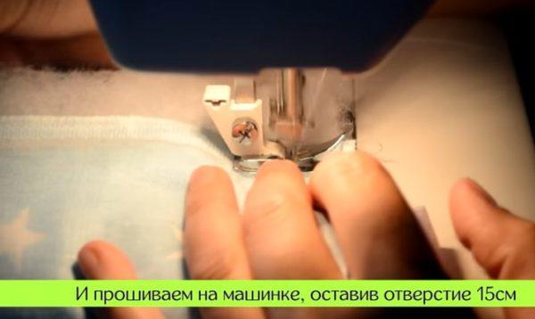 27-2-600x358 Как сшить бортики в кроватку для новорожденных своими руками