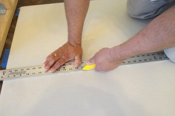 Нарезка элементов обшивки