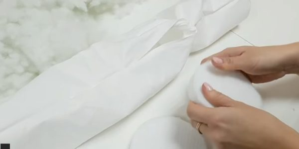 НабиНабиваем подушкуваем подушку