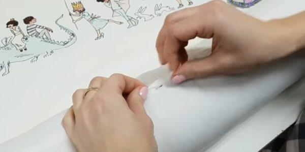 54-3-600x299 Как сшить бортики в кроватку для новорожденных своими руками