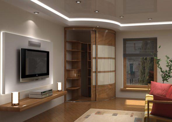 Универсальный выбор для комнаты традиционной стилистики – современный минимализм