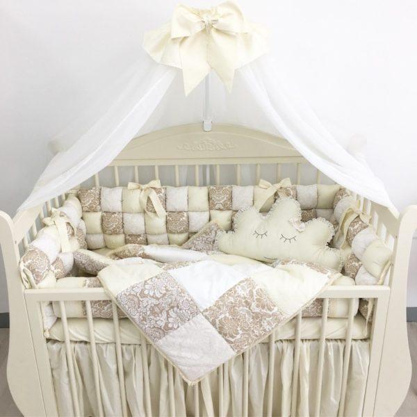 Бортики в кроватку новорожденному